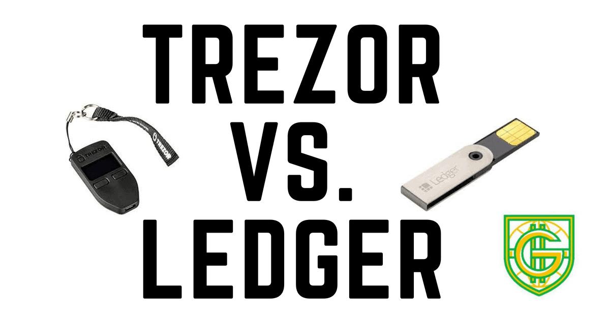 trezor and ledger